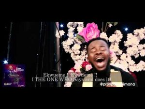 DOWNLOAD MP3: Prospa Ochimana Ft. Osinachi Nwachukwu – Ekwueme