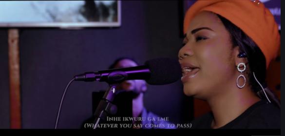 VIDEO: Mercy Chinwo - Omekannaya (Live)